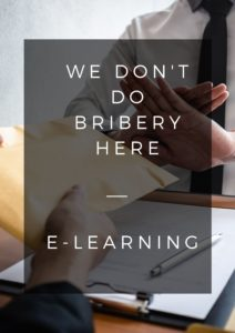 bribery and corruption e-learning